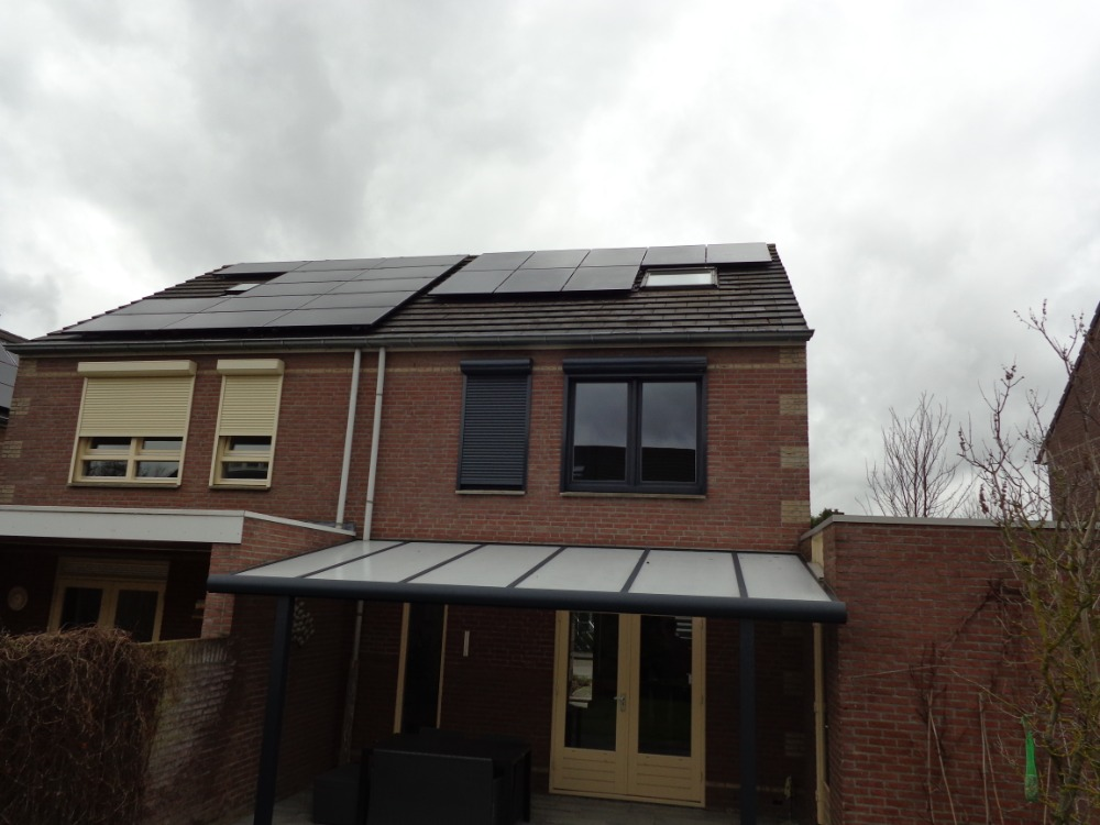 Zonnepanelen project